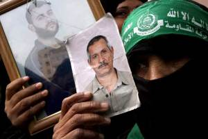 Familiares de presos palestinos piden su liberación (Efe)