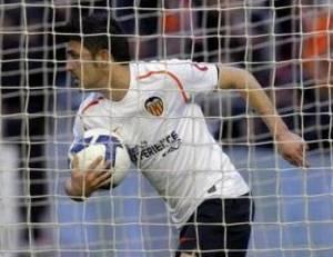 El delantero del Valencia David Villa  FOTO: Juan Carlos Cárdenas - EFE