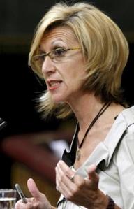 La diputada de UPyD, Rosa Díez (Efe).
