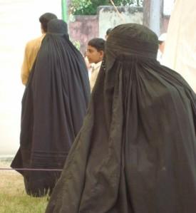 Burka negro
