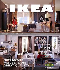 Versión americana del catálogo 2010 con la nueva fuente.