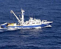 Pesquero español secuestrado