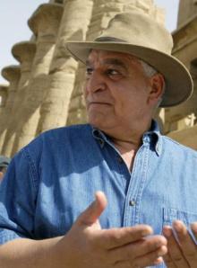 Zahi Hawas  El arqueólogo egipcio fotografiado en 2006  AFP