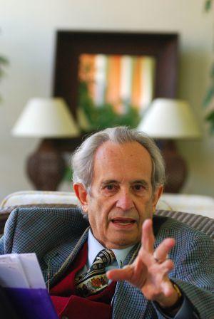Antonio Cubillo, líder independentista canario, en 2008. / PEDRO PERIS.
