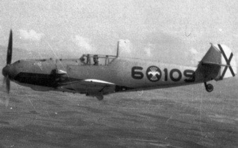 BF-109 de la Legión Cóndor ( Guerra Civil Española).