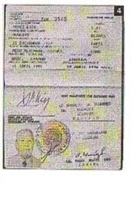 El último pasaporte de Augusto. Arxiu municipal de Pego.