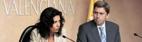 Vicente Rambla y Angelica Such. EFE/ Luis Vidal