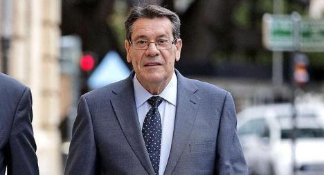 El exalcalde de Torrevieja y exdiputado del PP en Les Corts, Pedro Hernández Mateo. / EFE