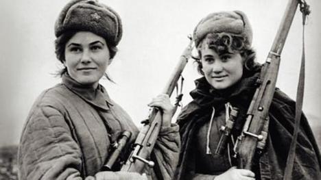ABCDos mujeres durante la Gran Guerra Patriótica