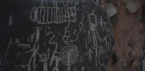 Petroglifo de Atacama. / Archivo