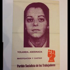 Yolanda asesinada