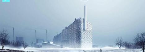 La planta aportará al sistema de calefacción de la ciudad y permitirá esquiar durante todo el año. BIG