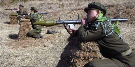 Maniobras militares en Corea del Norte el pasado jueves. / KCNA.