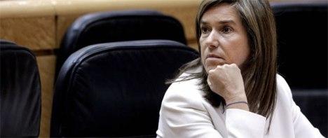 La sanidad española, nuevo nicho de corrupción tras el ladrillo, según 'The New York Times'. La ministra de Sanidad, Ana Mato (EFE)