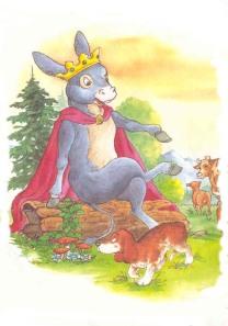 el rey y el burro