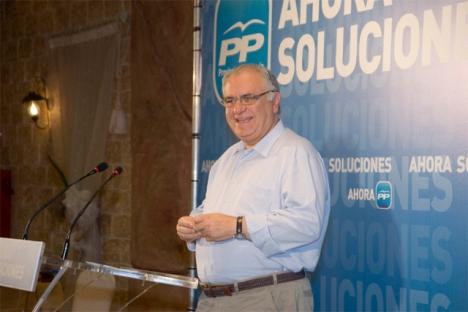 El presidente de las Corts Valencianes, Juan Cotino, tío del constructor que preside SEDESA (Foto PPCV)