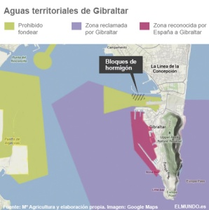 aguas territoriales en disputa