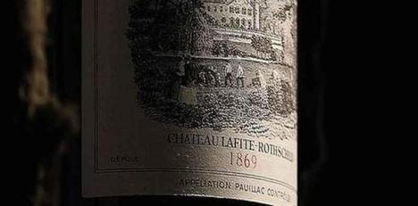 ¿Cuánto pagaría por una botella de Château Lafite Rothschild de 1869?. / LP
