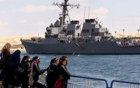 El USS Mahan en una foto de archivo. / - (AFP)