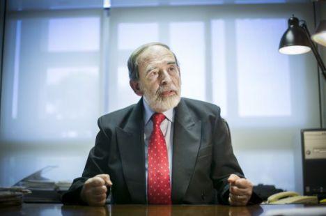 Francesc Granell, director general honorario de la Comisión Europea. / MASSIMILIANO MINOCRI