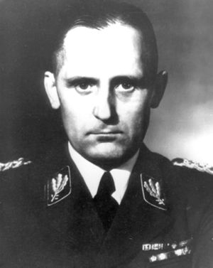 El jefe de la Gestapo, Heinrich Müller.