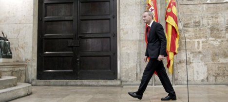 El presidente de la Generalitat Valenciana, Alberto Fabra (EFE)