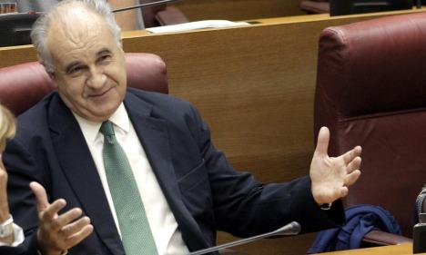 El exconseller y diputado popular Rafael Blasco. (EFE)