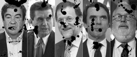 Imagen de los responsables de la gestión del caso del Prestige |