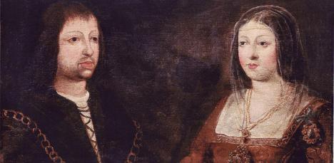Retrato de la boda de Fernando de Aragón e Isabel de Castilla