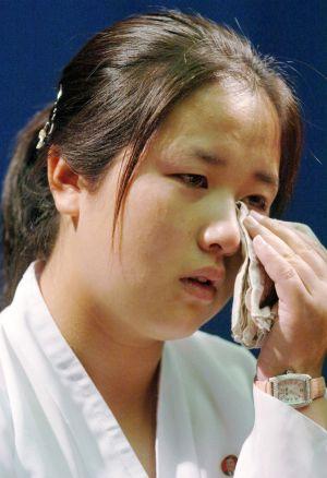 Kim Eun-gyong, hija de la secuestrada Megumi Yokota. / AP