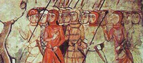 Almogávares en Mallorca, siglo XIII.