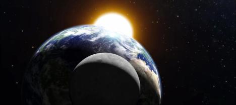 El próximo eclipse total lunar alcanzará su máximo a las 09.46 horas.