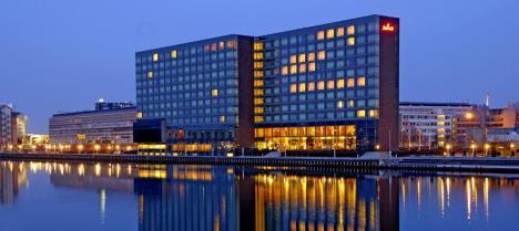 El hotel Marriot en el centro de Copenhague, donde se ha celebrado la reunión anual de Bilderberg. (Marriot)