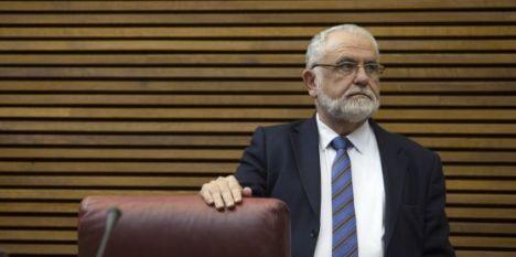 El presidente de las Cortes Valencianas, Juan Cotino. / JOSÉ JORDÁN