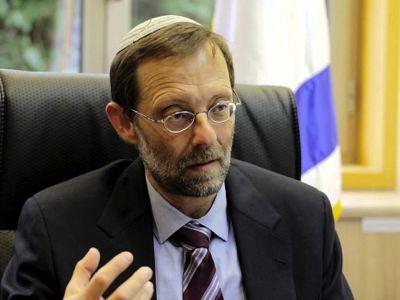 Moshe Feiglin, vicepresidente del parlamento israelí y miembro del Likud.