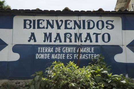 Bienvenida a Marmato