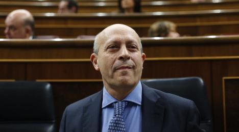 José Ignacio Wert. (Reuters)
