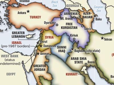 El rediseño del Medio Oriente según el coronel Ralph Peter