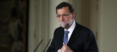 Mariano Rajoy en la rueda de prensa de este viernes. (Reuters) Leer más:  Veintitrés minutos de alucinación - Blogs de Notebook  http://bit.ly/1xqgfK8