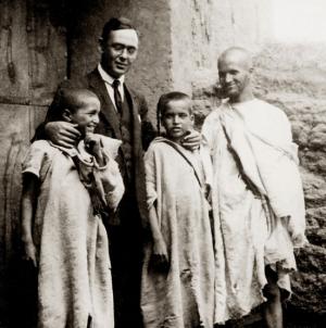 Blas Infante, en su viaje a Agmat