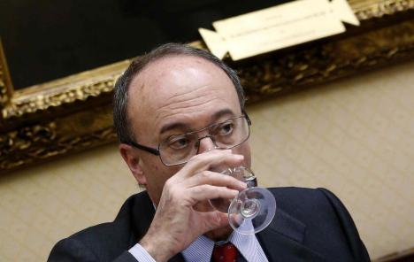 Luis María Linde, gobernador del Banco de España (Efe).