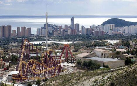 Vista general de Terra Mítica en Benidorm (Alicante), en 2009. / Kai Försterling (EFE)