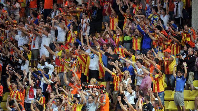 hinchas valencianistas
