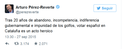 tweet perez reverte