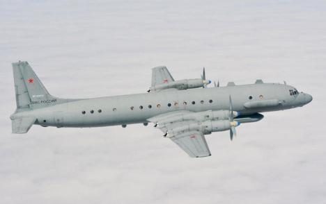 El avión de inteligencia electrónica Il-20 Coot A. (Foto: theaviationist)