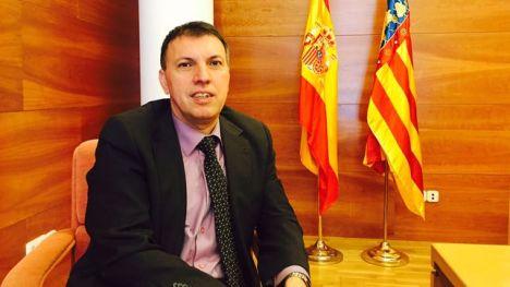 Joaquim Bosch, en una sala de vistas del Juzgado de Moncada (Valencia).