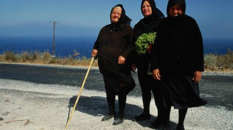 Ancianas griegas