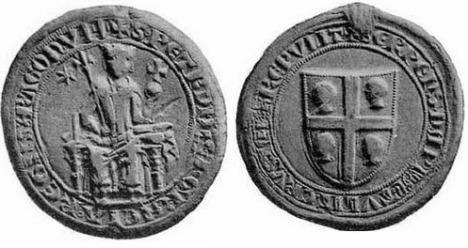 Bula de Plomo de Pedro III. 1281