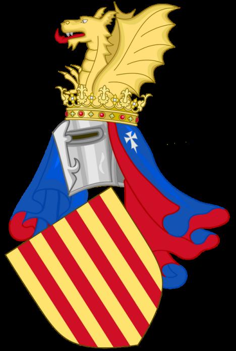 Escudo Pedro IV de Aragón
