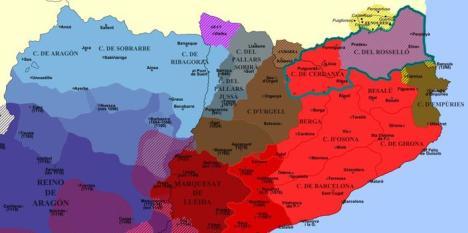 Los condados catalanes